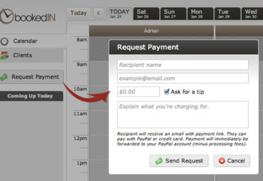 It only takes two clicks to get paid.