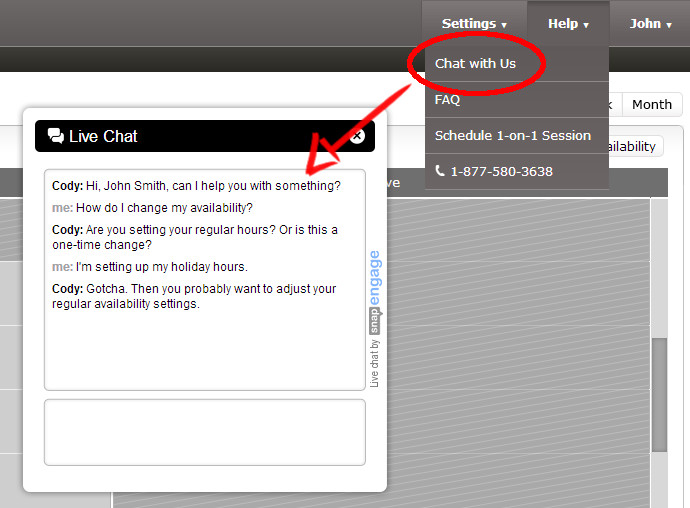 New Chat Options