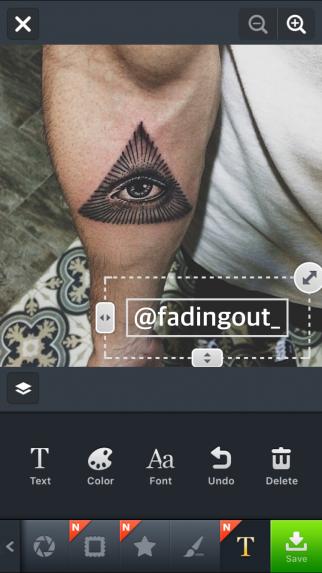"""Screenshot of """"aillis"""" mobile app"""