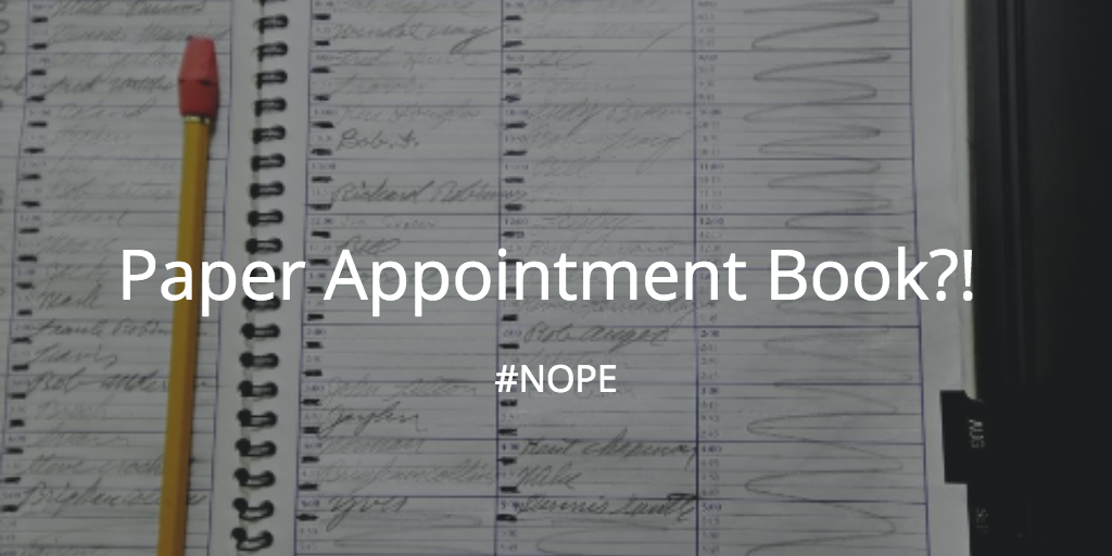 tattoo appointment book