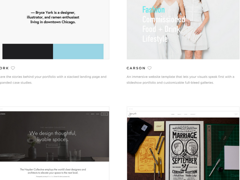 squarespace the website builder for tattoo artists