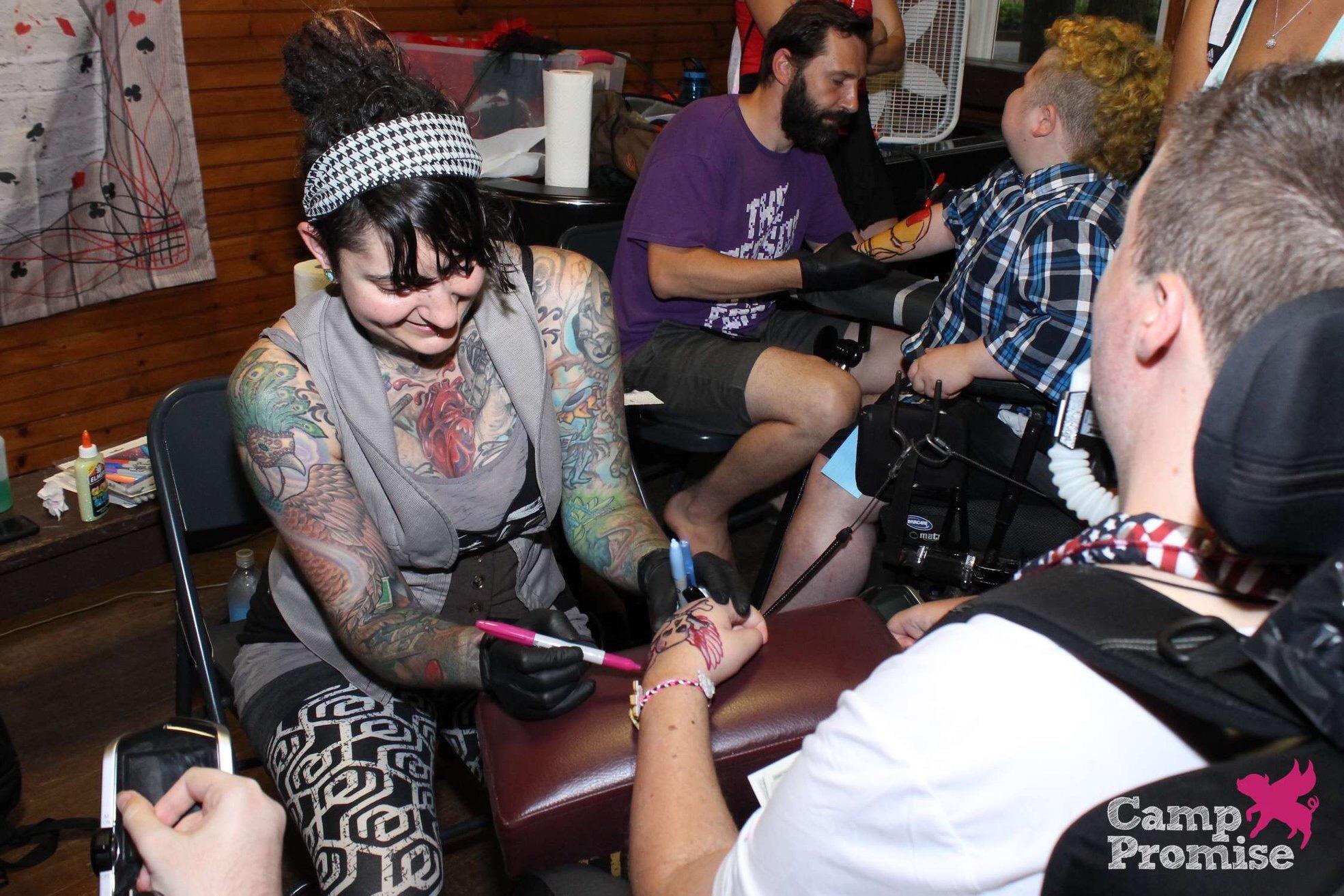 kelly green stable studio tattoo