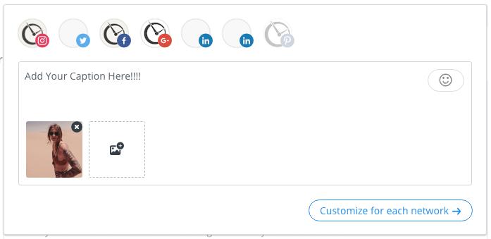 buffer posting interface