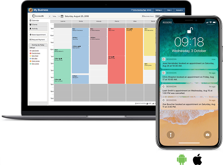 appointment booking and scheduling apps