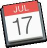 apple calendar ical icon