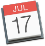 apple calendar ical icon