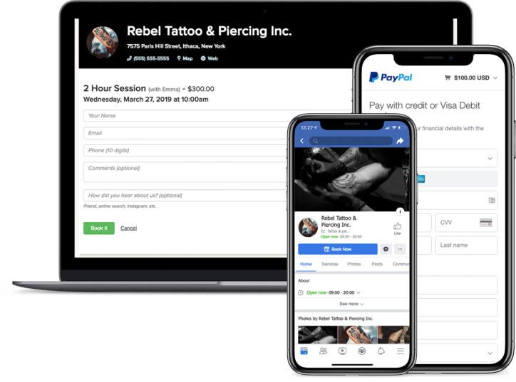 tattoo appointment software