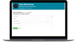 barber scheduling software