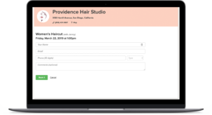 hair salon appointment scheduling software