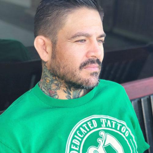 Jason medina owner dedicated tattoo temecula california