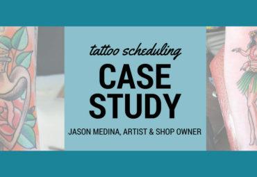 jason medina tattoo artist bookedin appointment scheduling app