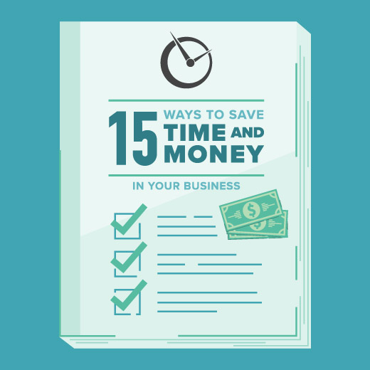 save time and money in your business