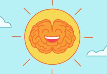 Sunshine smiling with a positive mindset