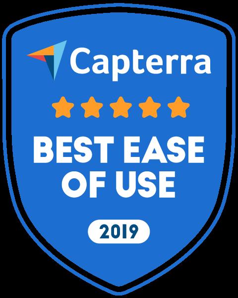 capterra ease of use award