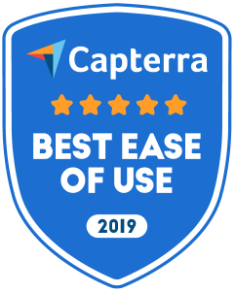 capterra easy to use badge