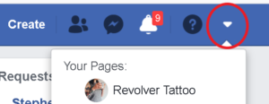 how to fiind your facebook page
