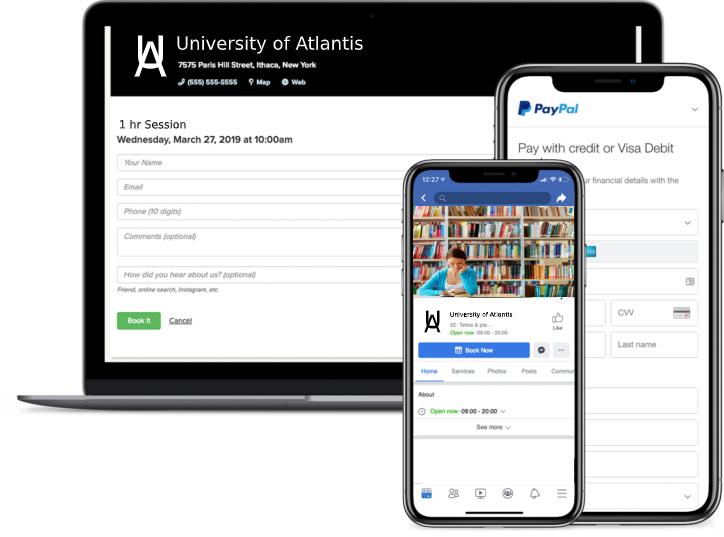 academic advisor booking software