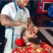 mike vanhook owner of Crazicutz Barbershop bookedin review