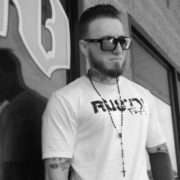 Russell McCabe Blxck Carbon Collective Tattoo Artist
