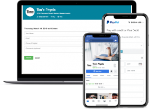 physio booking app