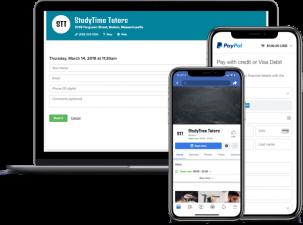 tutor scheduling app