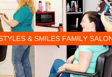 Jana Bake Salon Owner styles and smiles idaho