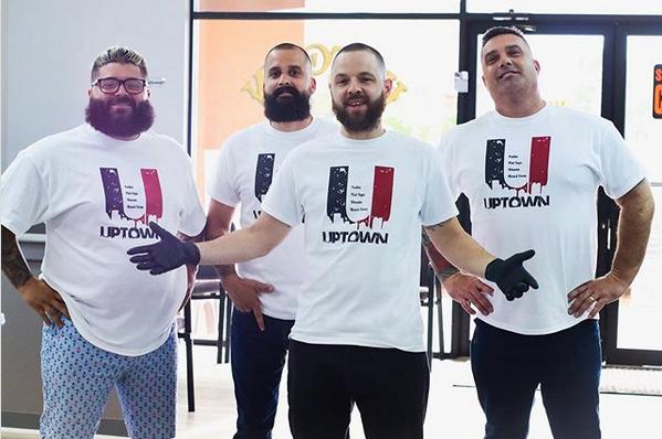 uptown barber shop team in naples florida