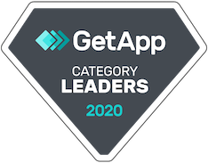 Getapp 2020 Online Booking Category Leader Badge