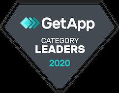 Getapp 2020 Online Booking Category Leader Badge