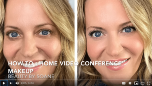 youtube video showing you how to do zoom makeup
