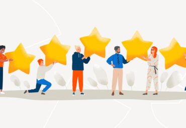 client satisfaction with 5 star reviews
